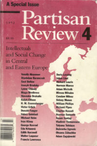 Partisan review_1992